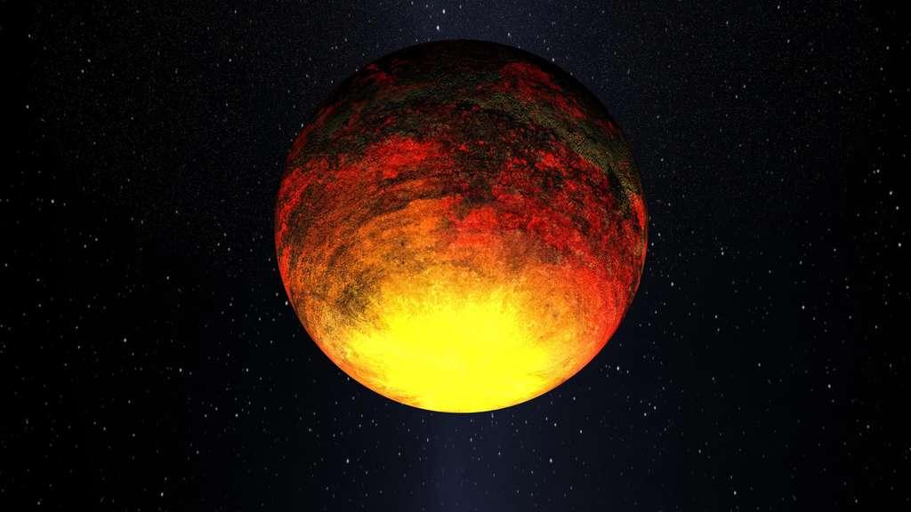 Kepler 10-b, une superterre