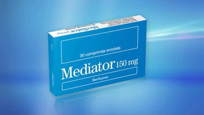 Le Mediator, fabriqué par les laboratoires Servier, a été utilisé entre 1976 et 2009 en France, et était prescrit notamment dans le traitement du diabète de type 2 aux personnes en surpoids. Son principe actif, le benfluorex, a été reconnu dangereux, conduisant à une altération des valves cardiaques. © DR