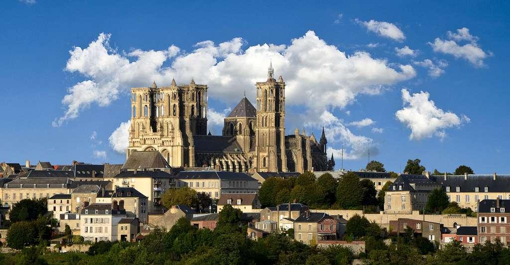 La cathédrale de Laon. © Pline, Wikimedia commons, CC by-sa 3.0