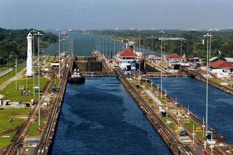 Canal de Panama, exemple de modification des habitats. © Stan Shebs, GNU FDL, 1.2