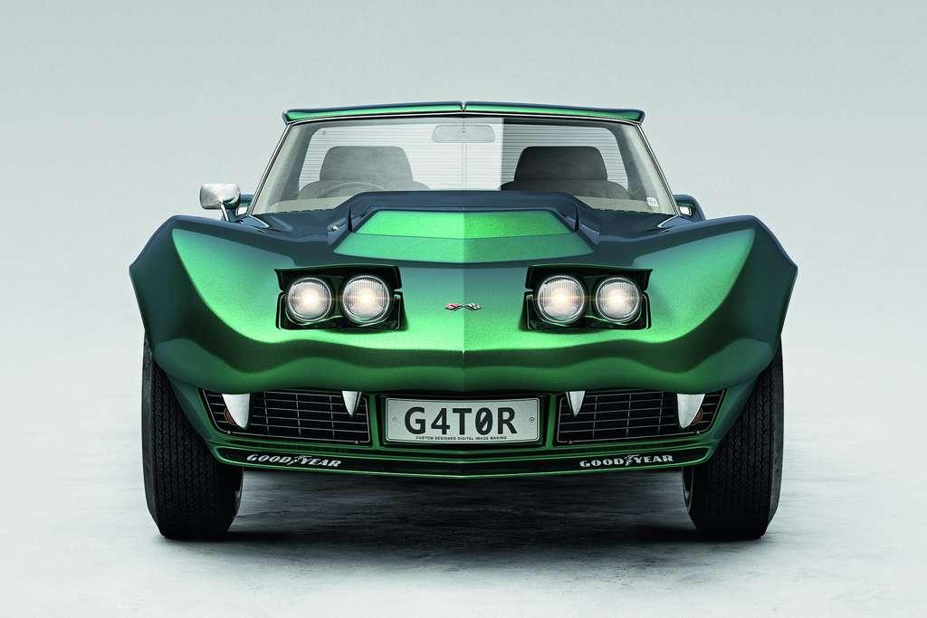 Chevrolet Corvette Stingray : vue de la G4T0R, en forme de reptile