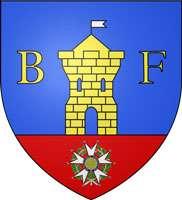 Blason de la ville de Belfort © dessin personnel de Henri Salomé - Wikipedia licens GFDL