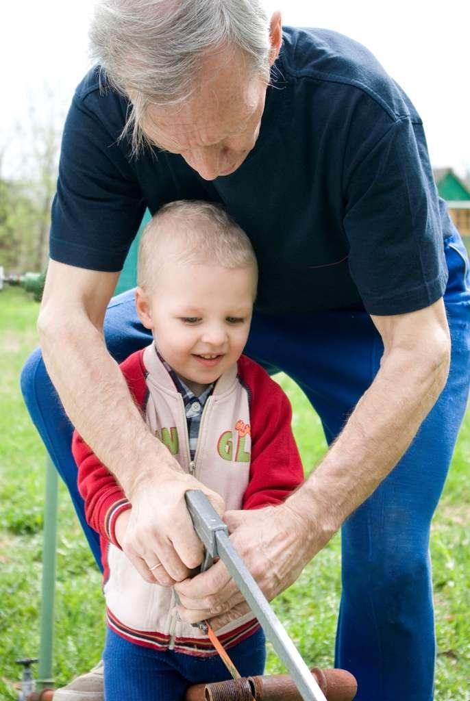 La génétique étant partiellement impliquée dans l'espérance de vie, les seniors ne disposent pas des mutations ou des altérations génétiques qui impliquent de mourir jeune. En revanche, les enfants peuvent en être porteurs. En comparant les génomes des différentes générations, les scientifiques espèrent découvrir quelles VNC sont nocives. © Chay, StockFreeImages.com