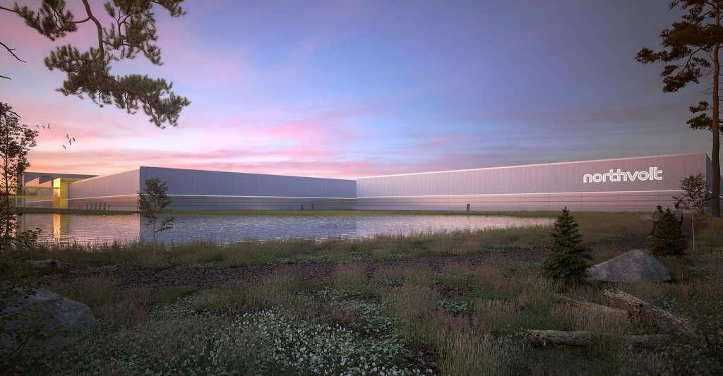 La société Northvolt lancera une production à grande échelle de batteries dans sa giga-usine installée en Suède d'ici quelques semaines. En parallèle, la société travaille à mettre en place une chaîne de recyclage pour améliorer le bilan environnemental des batteries lithium-ion. © Northvolt