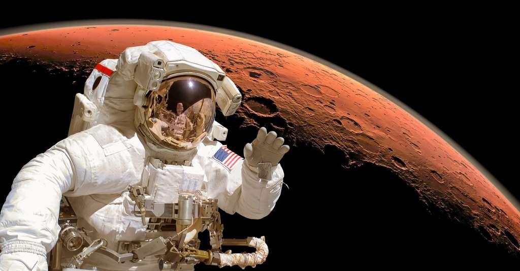 «Pour poser un Homme sur Mars, il faudra atteindre une précision de 100 mètres. En 40 ans, nous sommes passés à une précision de 250 à 12 kilomètres. Pour le reste, nous pourrons peut-être imaginer de placer des balises au sol sur lesquelles asservir nos engins», explique Francis Rocard, du Cnes. © Delphotostock, Fotolia