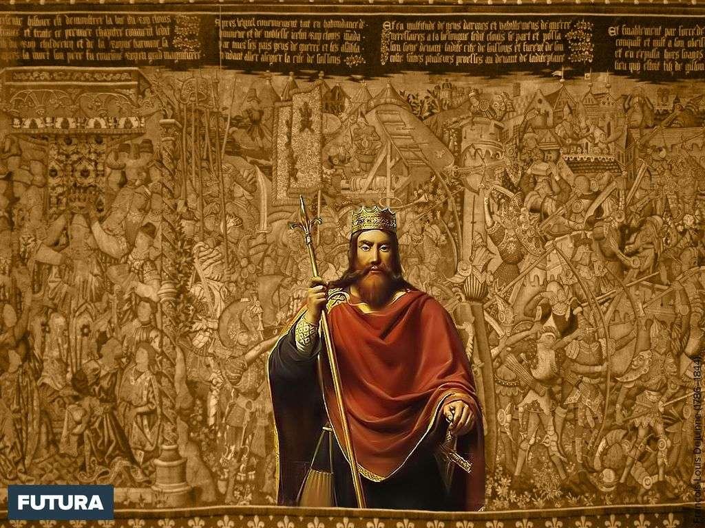 Clovis 1er roi des Francs (465-511)