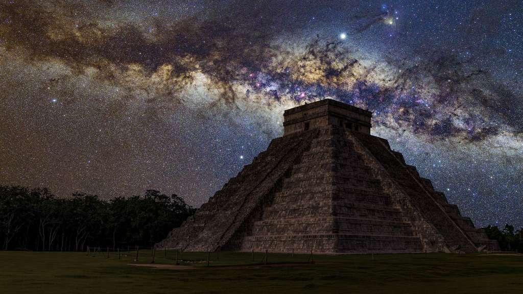 Mexique : Chichén Itzá, ancienne ville maya dans la péninsule du Yucatán