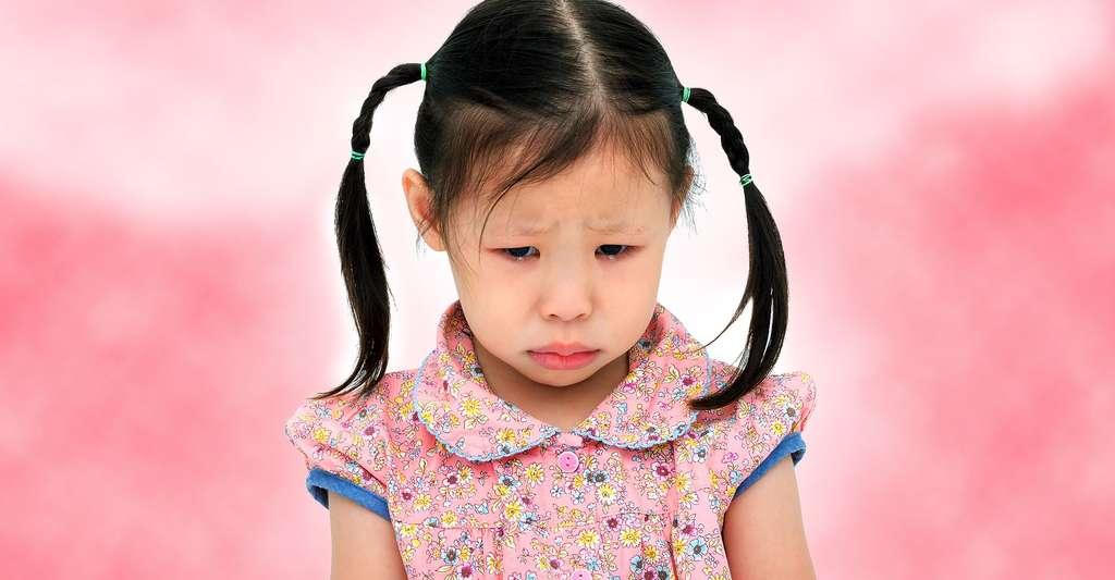 Les enfants aussi peuvent être sujet à la dépression. © All about people, Shutterstock