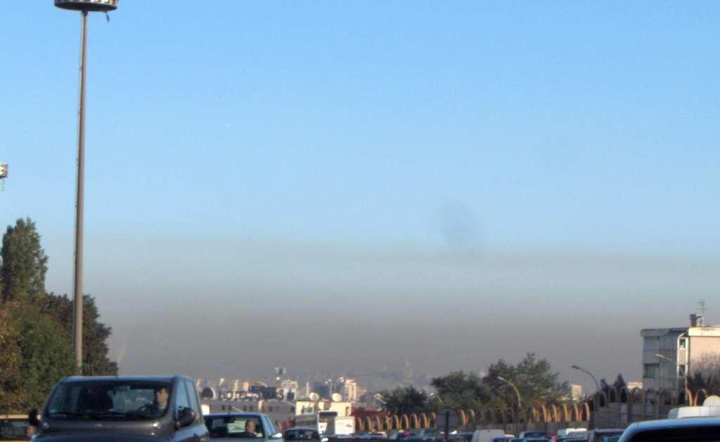 Actuellement, l'indice de pollution de l'air de Paris est faible. Les principaux polluants sont l'ozone et les particules fines PM10. © Céréales Killer, Wikipédia, GNU 1.2