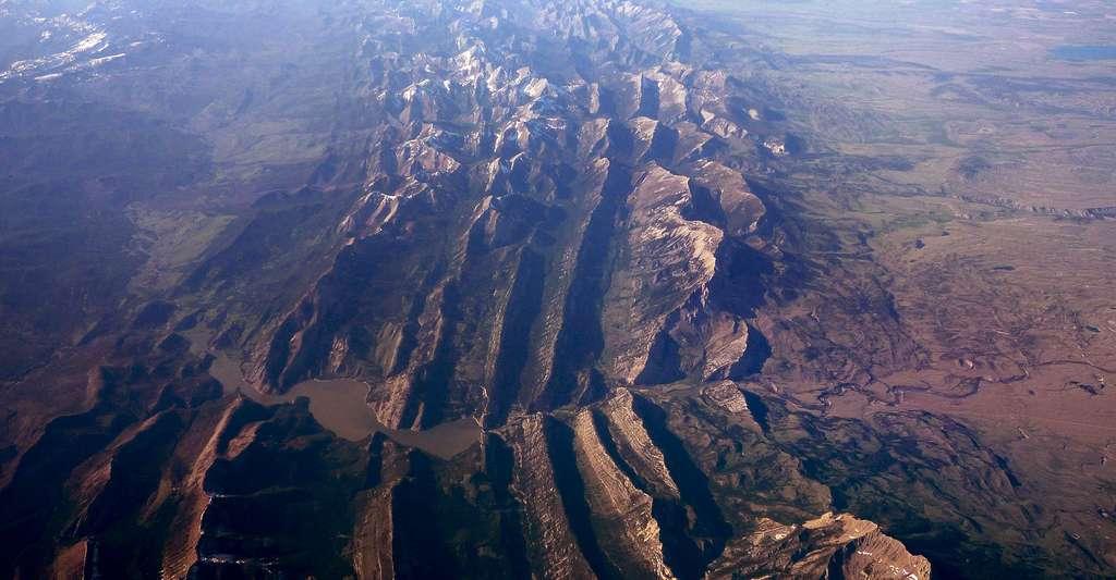 Les montagnes Rocheuses, à la frontière entre les États-Unis et le Canada. © Bobak Ha'Eri, CC by-sa 3.0