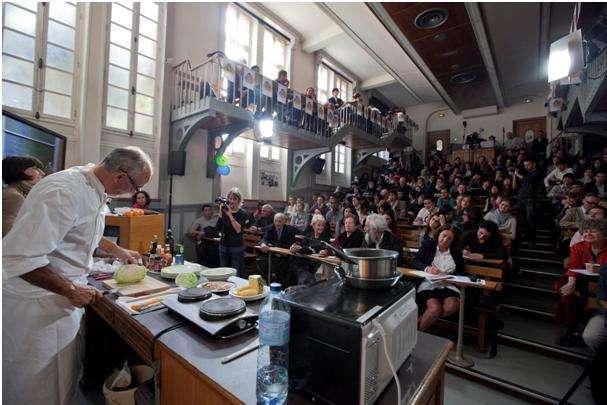 L'opération « Chef sur le campus » est, depuis l'année dernière, une façon d'inciter les étudiants à manger mieux. © www.legout.com