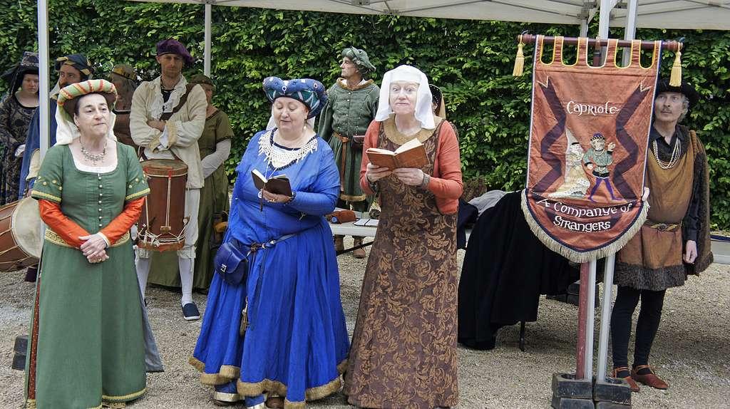 Des centaines de figurants en costume d'époque. © Garitan, Wikimedias Commons by-sa 3.0