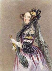 Lady Ada Lovelace. Licence GPL