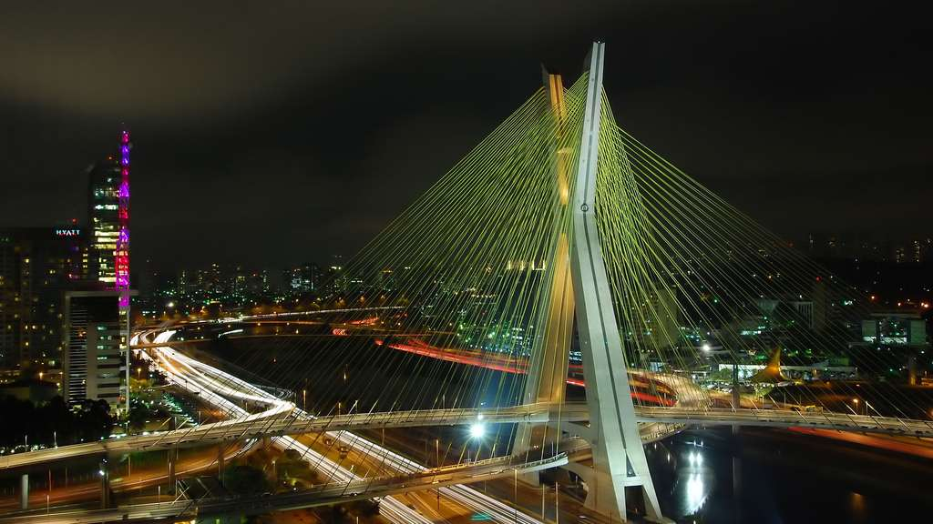 Le pont Octávio Frias de Oliveira