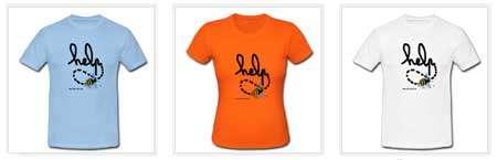 Cliquez pour acheter nos T-shirts « Help ». © Futura