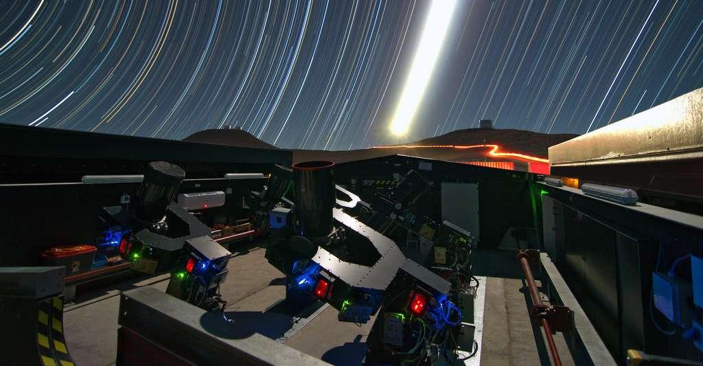 C'est grâce au Next-Generation Transit Survey (NGTS) installé au Chili que les astronomes de l'université de Warwick (Royaume-Uni) ont retrouvé un «monde perdu. © G. Lambert, ESO