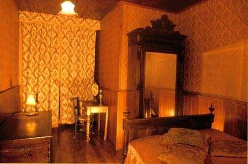 Une des chambres © Photo Dominique Felga