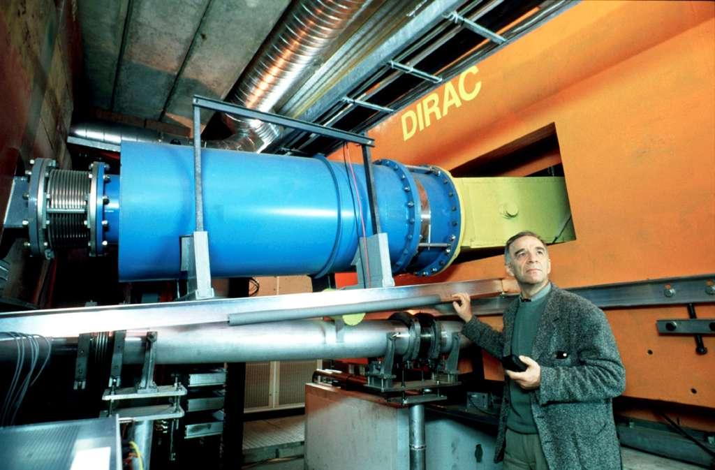 Une vue de l'expérience Dirac au Cern. Grâce à celle-ci, des physiciens viennent de créer des atomes exotiques formés de mésons pi et de mésons K. © Cern, Patrice Loïez