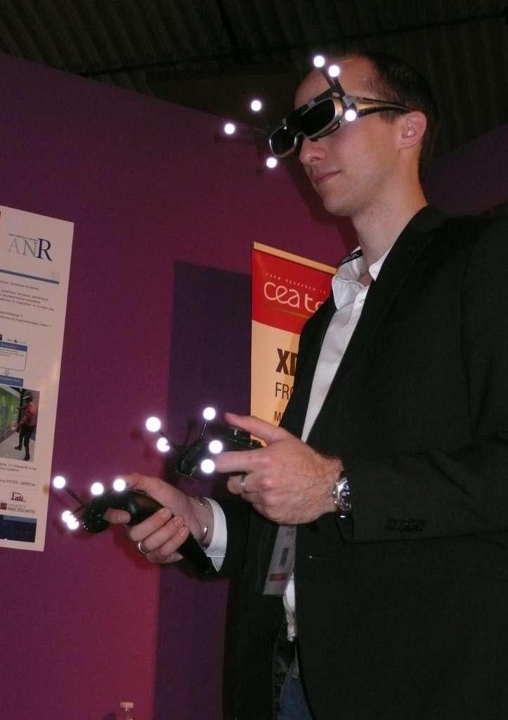 Le harnachement de la réalité virtuelle