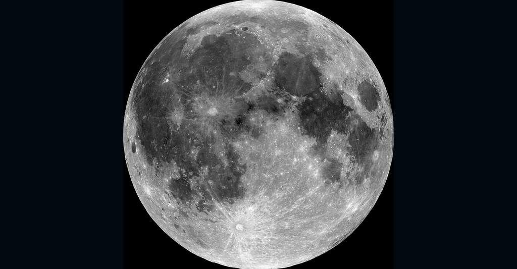 Vue de la Lune. © NASA, Wikimedia commons, DP