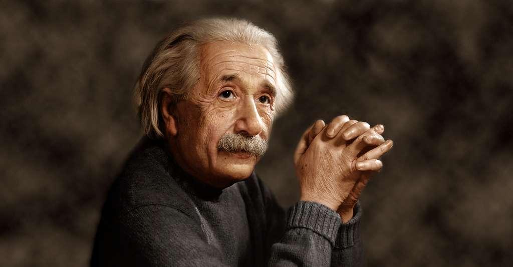 Einstein a essayé de généraliser sa théorie de la gravitation. Il espérait découvrir une théorie unitaire des forces et de la matière par ce moyen. Cet idéal occupe toujours les physiciens théoriciens. © InformiguelCarreño, Wikimedia Commons, CC by-sa 4.0