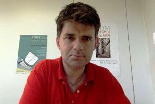 En poste à l'université de Gênes, Pierre Martinetti explore les implications de la géométrie non commutative en physique fondamentale. © Pierre Martinetti