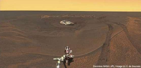 Quelles sont les vraies couleurs de Mars ? © Futura-Sciences - O. de Goursac