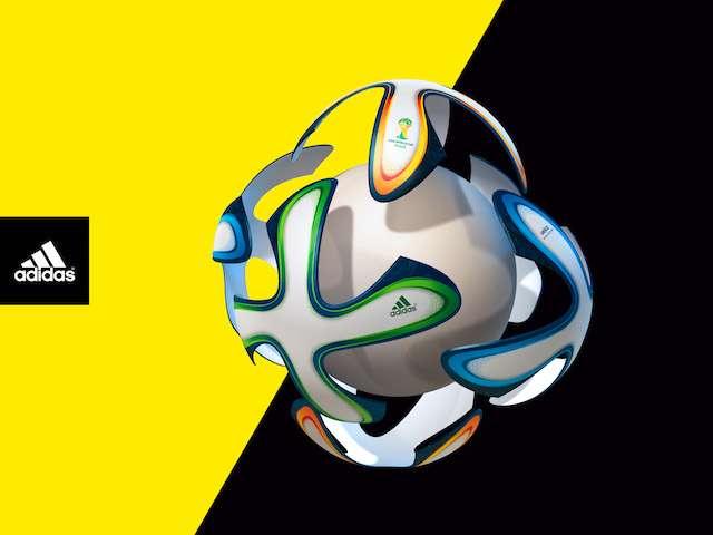 Le Brazuca de la Coupe du monde 2014 est composé de six faces : topologiquement, c'est un cube. © Adidas