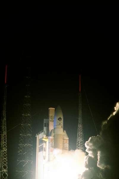 Premier décollage d'Ariane 5 G+