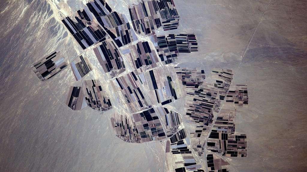 L'Ouzbékistan vu de l'espace