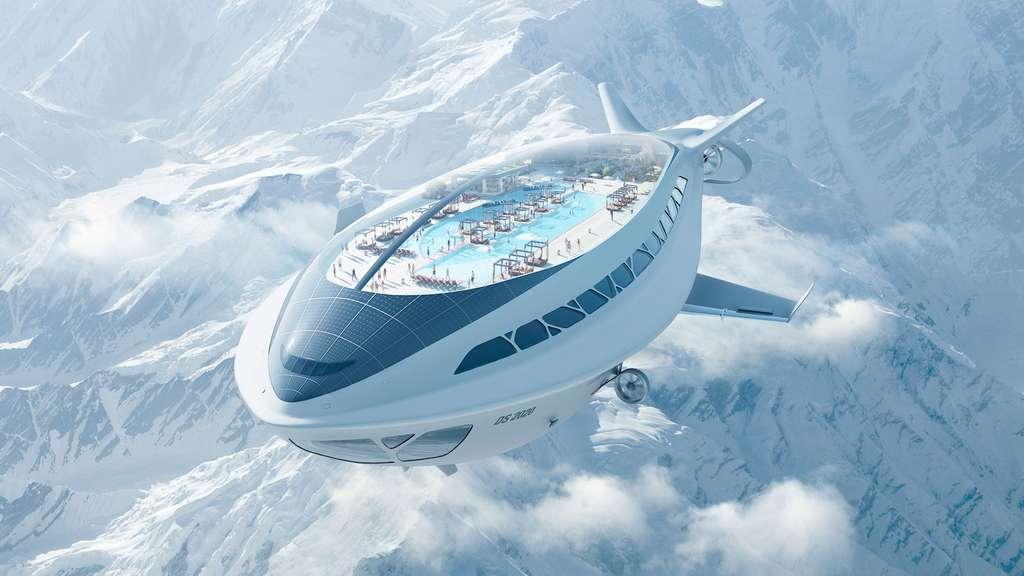 Futur : Dassault Systèmes et l'Air cruiseship concept, no limit !