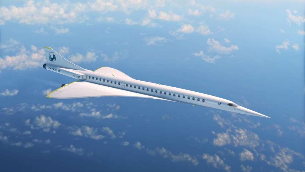Conçu pour emporter dans un premier temps 44 passagers, le XB-1 pourrait en embarquer jusqu'au double. À condition d'être fortuné... © Boom Supersonic