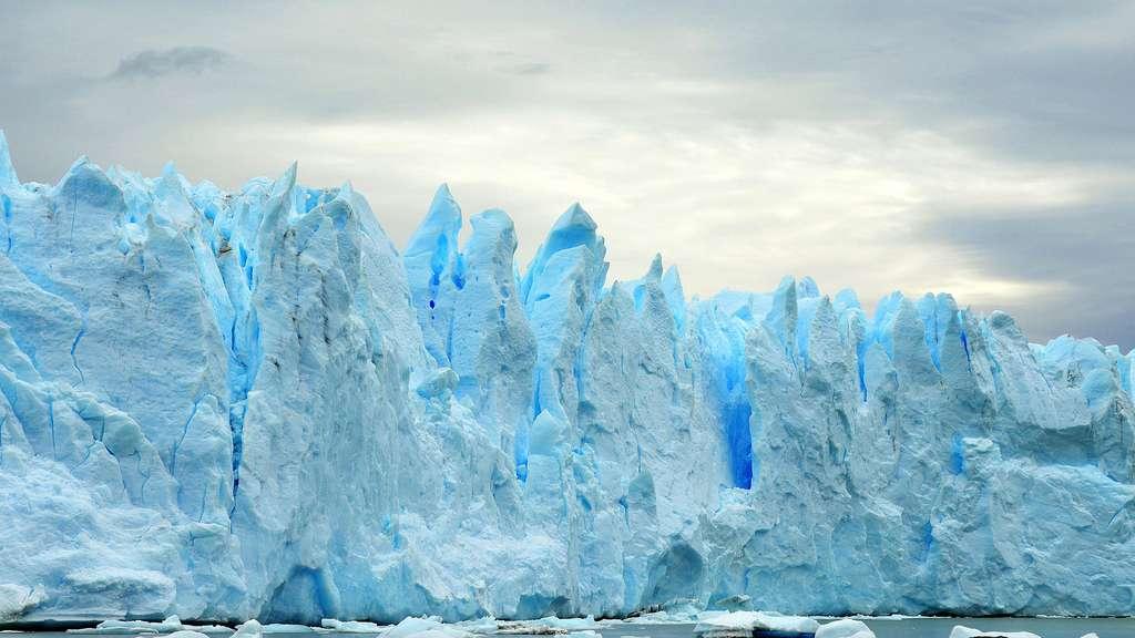 Patagonie Campo de Hielo Su, champ de glace sud