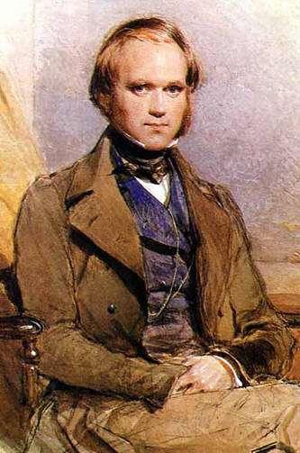 Portrait de Charles Darwin peint par George Richmond, fin des années 1830. © Commons