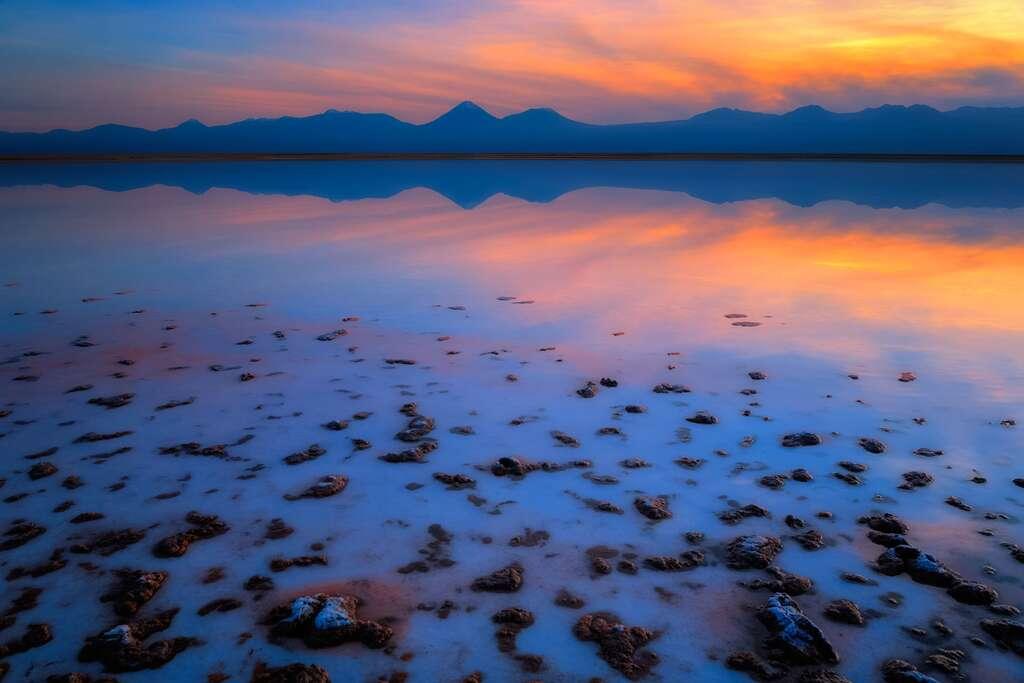 Les stromatolites de la lagune Tebenquiche
