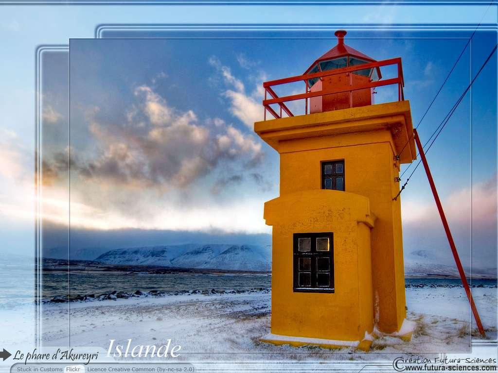 Phare Akureyri Islande