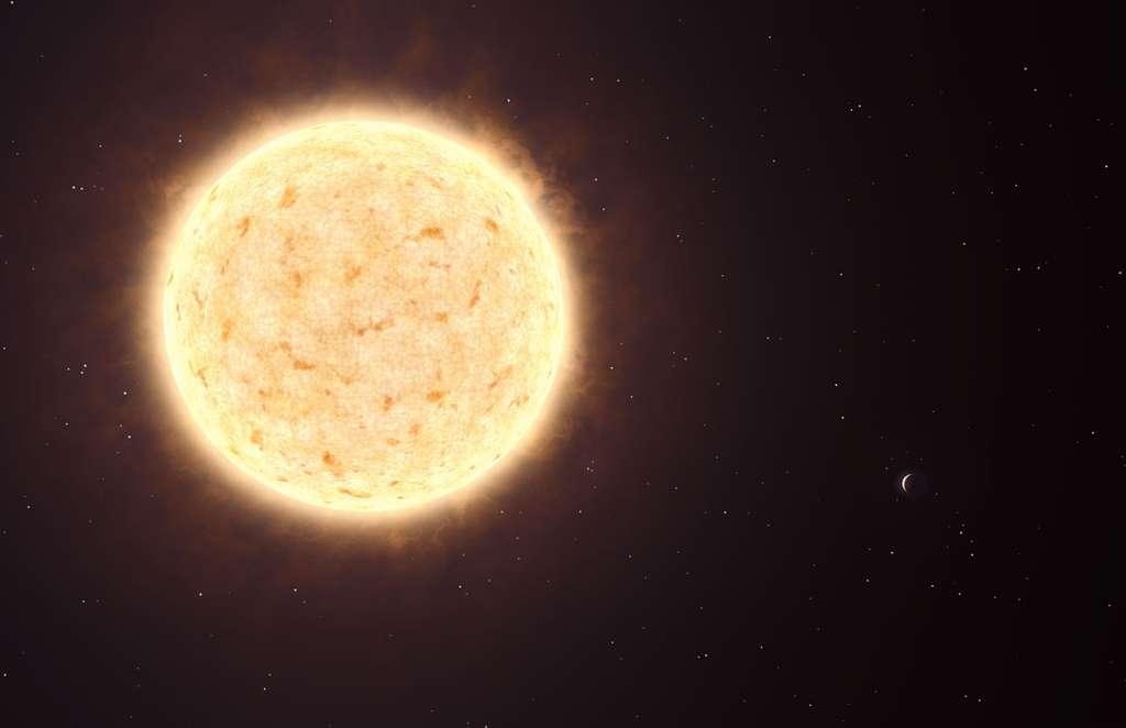 HIP 13044 b, la première exoplanète découverte hors de notre galaxie