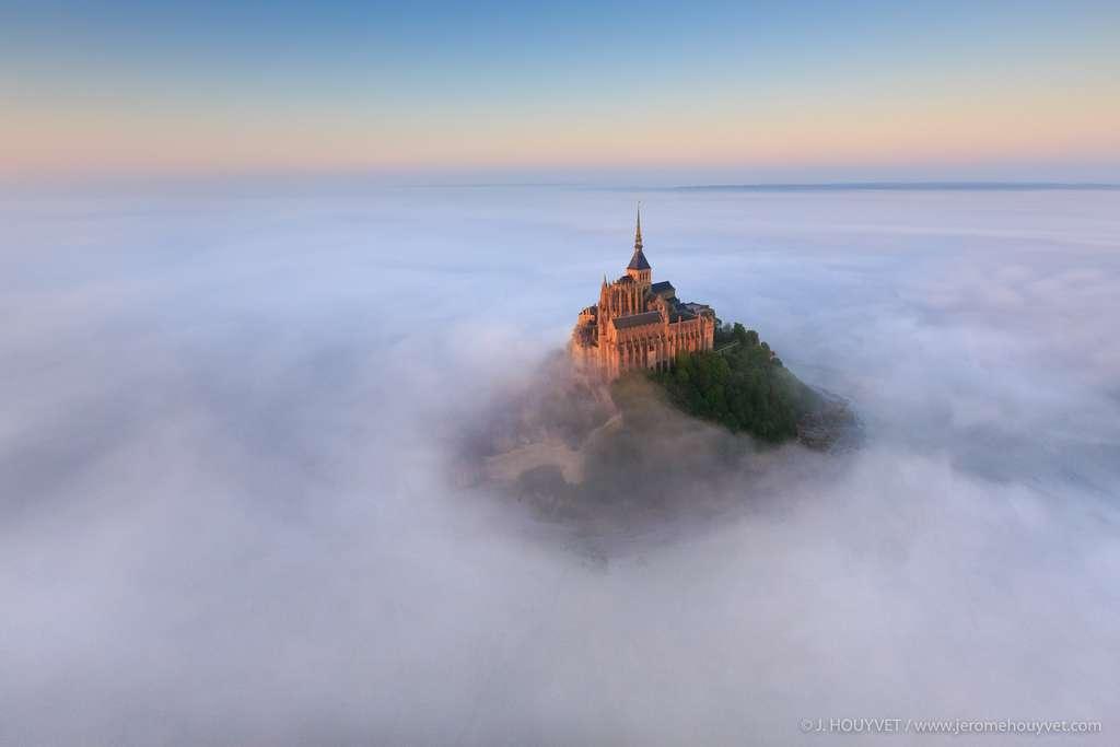 Vue sur le Mont Saint-Michel. © Jérôme Houyvet, tous droits réservés