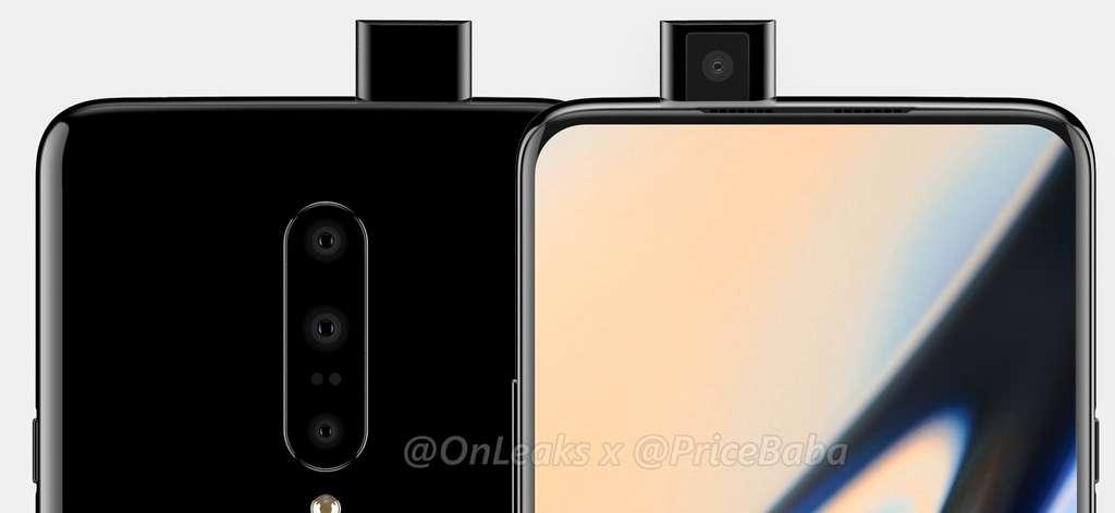 Plus de trou dans l'écran puisque l'appareil photo se cache dans la tranche du téléphone. © OnePlus