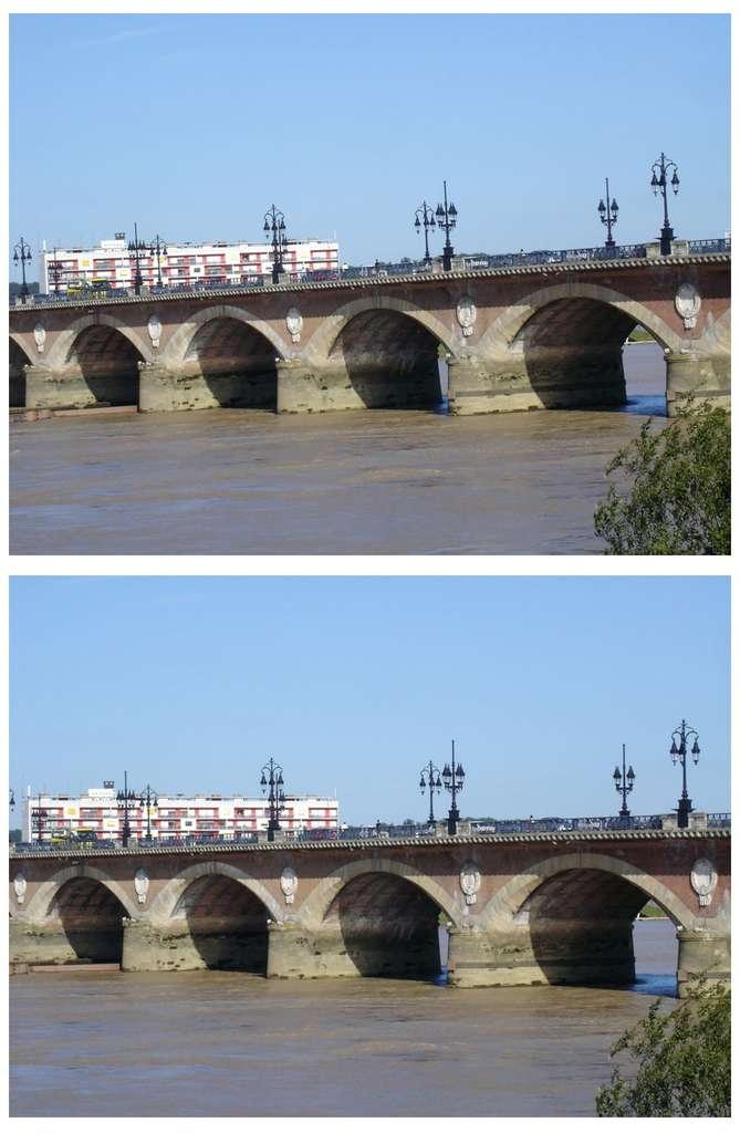 Bordeaux : le « pont de pierre ». © J.-P. Louvet