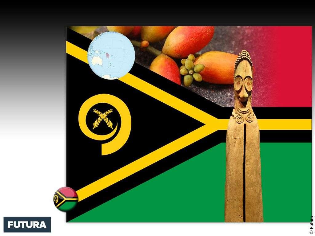 Drapeau : Vanuatu