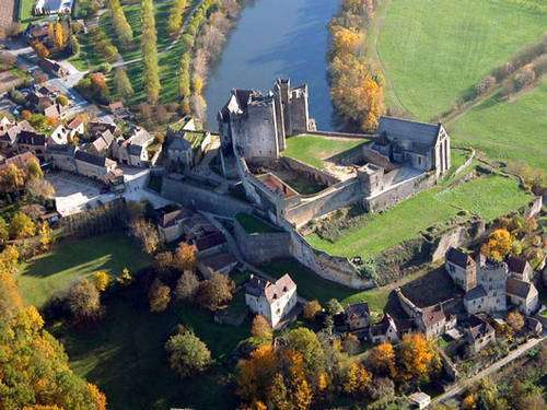 Le château de Beynac. © Philippe Dufour, tous droits réservés