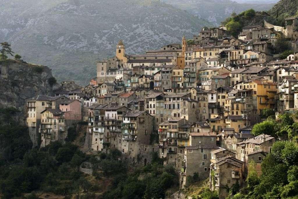 Village perché de Saorge, Alpes-Maritimes. © RolfSt, iStock