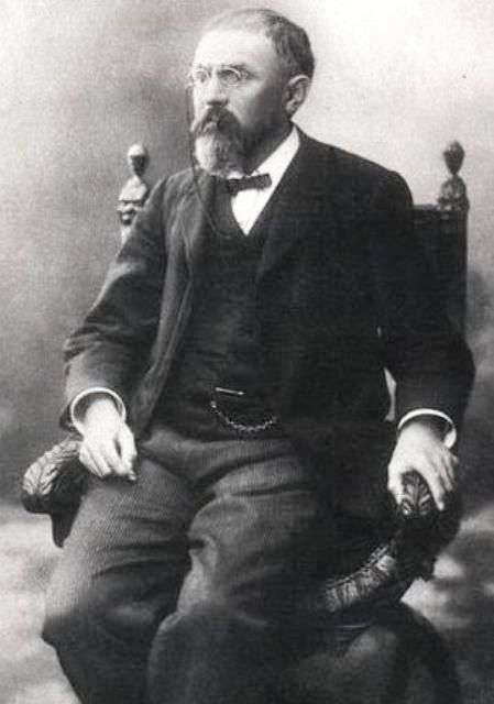 Le mathématicien et physicien Henri Poincaré (29 avril 1854 à Nancy, France - 17 juillet 1912 à Paris). © Henri Manuel