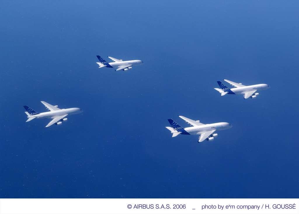 A380 : ballet aérien