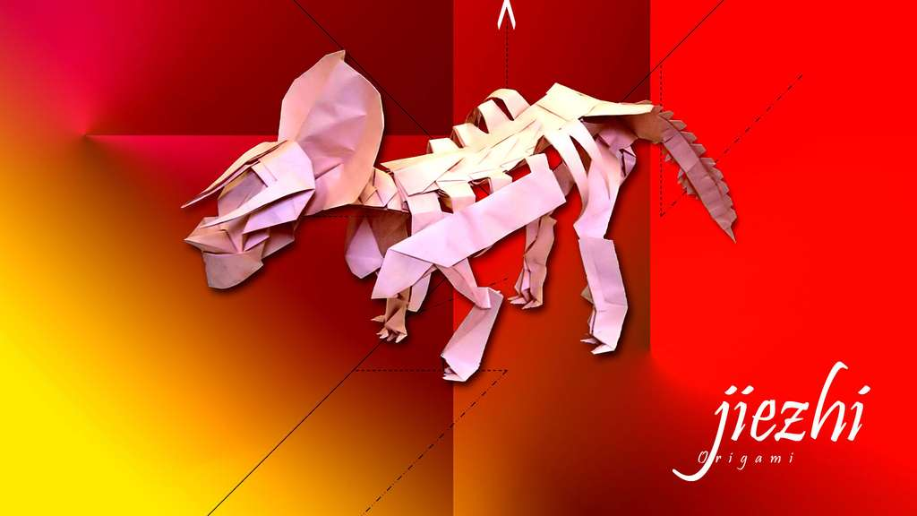 Un Zuniceratops en papier