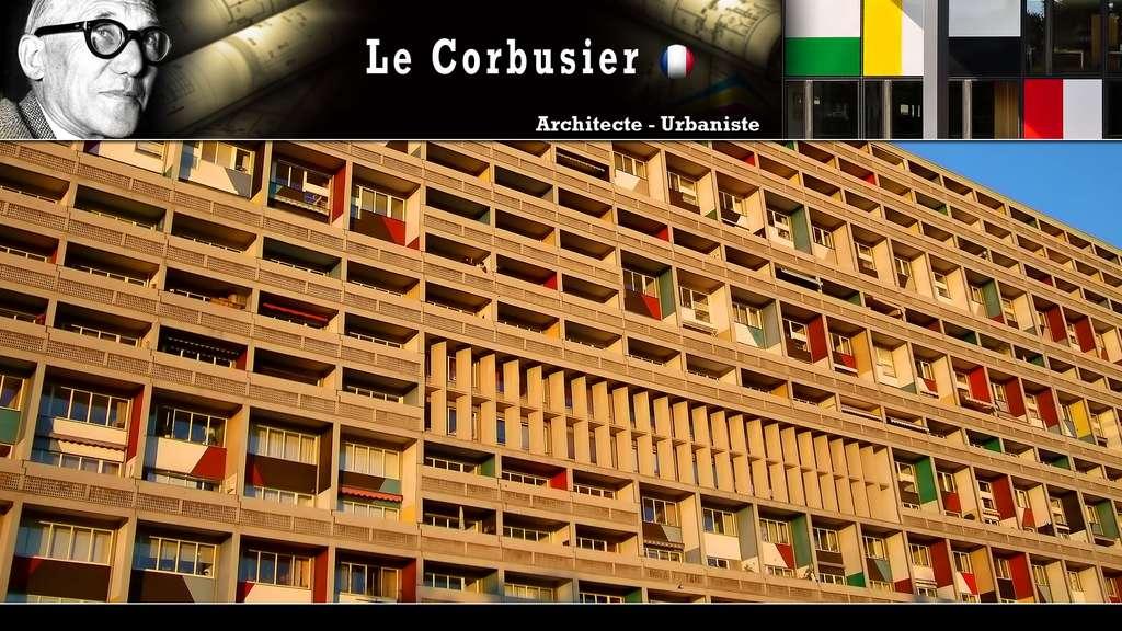 Le Corbusier : l'unité d'habitation à Berlin