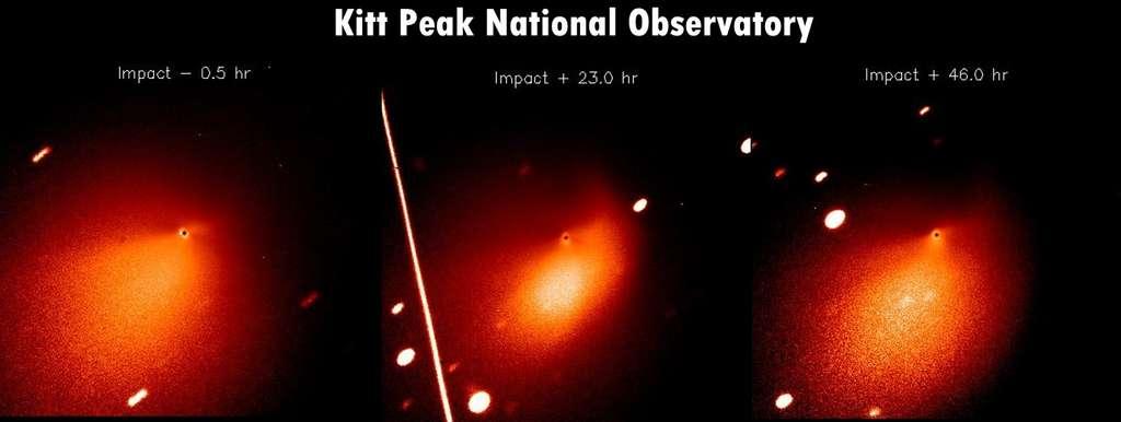 Tempel-1 vue par le Kitt Peak National Observatory