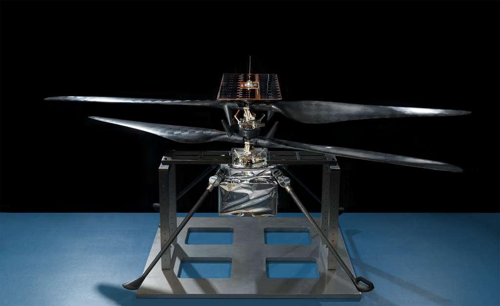 L'hélicoptère martien de la Nasa de la mission Mars 2020. © Nasa, JPL