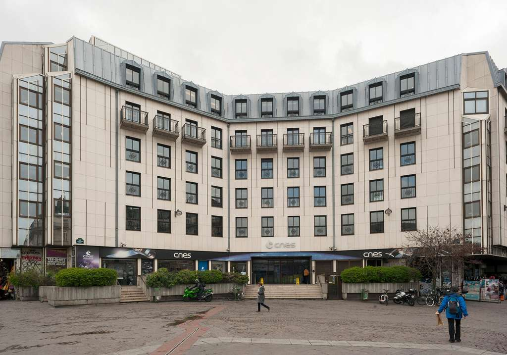 Le siège du Cnes, à Paris Châtelet-les-Halles.© Cnes, Gaffiot Guillaume, 2011